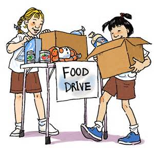 Food drive service project